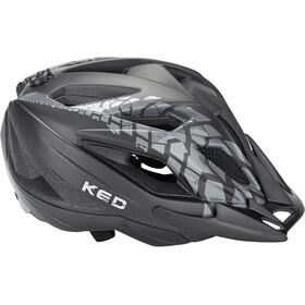 KED Street Jr. Pro Kask rowerowy Dzieci, black anthracite